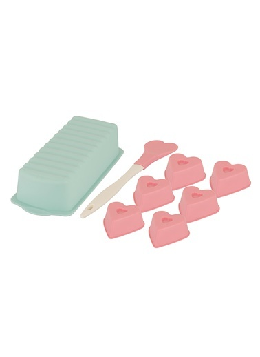 Pembe Mint Baton 8li Kek Seti-Tantitoni